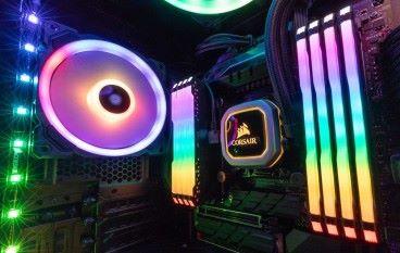 【Computex 2018】DDR4 4600MHz 極速、大面積燈條 CORSAIR VENGEANCE RGB PRO