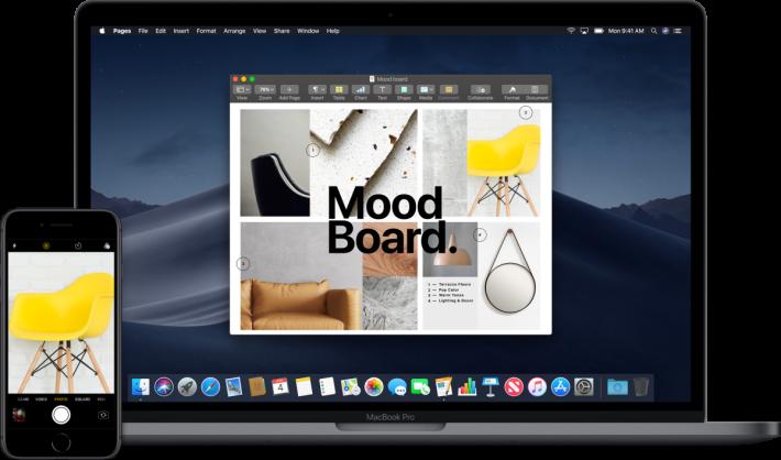 遙控拍攝和掃描文件功能活用 Apple 產品的跨平台功能