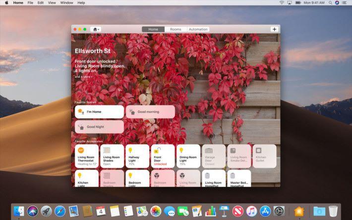 終於可以在 Mac 上以 Home App 來觀看家中 IP Cam 影像,而不用額外拿手機出來看了。