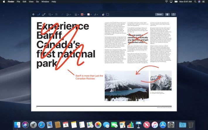 Quick Look 經已不是預覽那麼簡單,還可以進行一定程度編輯。