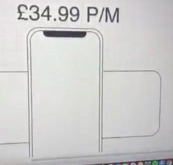 留意 iPhone SE 2 的圖樣,後面的那個長方型...