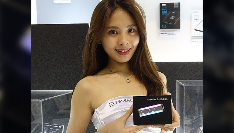 【Computex2018】新貴 KLEVV 大玩韓風 RGB M.2