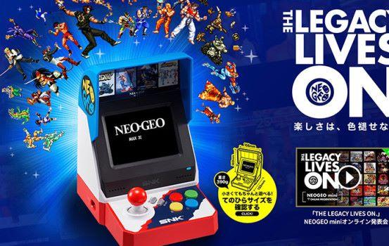 NEOGEO mini 7 月 24 日開售 日本即日接受預訂