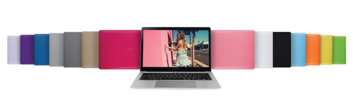 AVITA LIBER 筆電本身提供多款顏色選擇。
