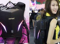 【Computex2018】繼續將 PC 孭上身! Zotac 第二代 VR GO