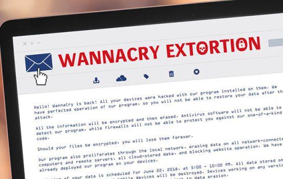WannaCry 復活?英國出現大量恐嚇電郵