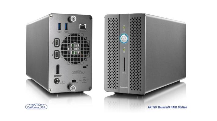 .RAID Station 外型細小,可置入兩隻2.5寸 SSD 或硬碟作 RAID 使用,機身也有基本的 Dock 功能,包括 Display Port 1.2 外接顯示器用。