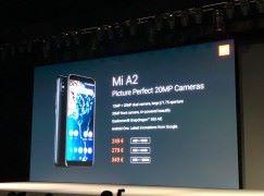 小米發表新手機 A2