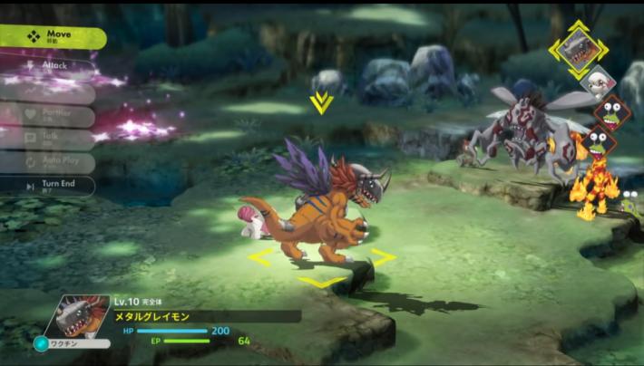 試玩影片中更有亞古獸直接進化成機械暴龍獸的示範。