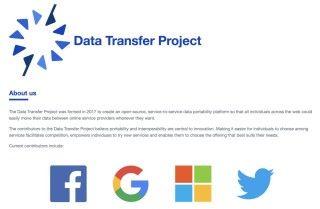四大科技巨企 Google 、 Facebook 、 Microsoft 和 Twitter 合力推出讓個人資料在社交平台間互聯互通的機制。