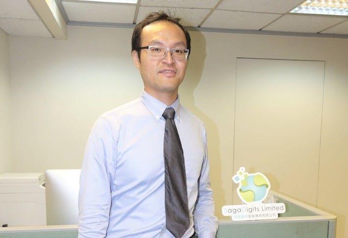 陳智銓表示,做 O2O 和實體商店的數據分析業務更具潛力。