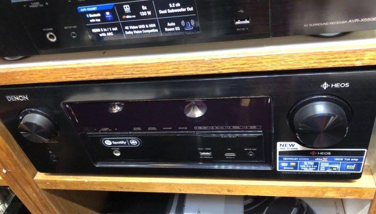 【場報】 AV 擴音機 Denon AV AMP 平一千