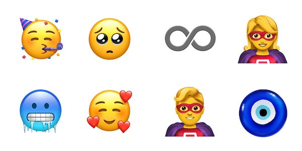 現在的 Emoji 都是一粒粒的公仔