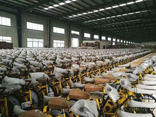 天津王慶坨 500多家單車廠,有超過一半已經倒閉。