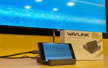 有 WAVLINK Mini Docking Station 公幹唔駛帶電腦
