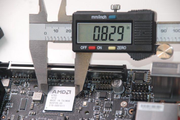 AMD B450 的尺寸(1)