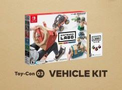 Nintendo Labo Toy-Con 第三彈 Vehicle Kit 9 月 14 日推出