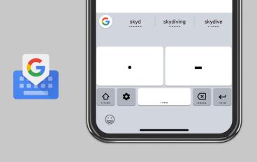 Google Gboard 加入摩斯電碼輸入