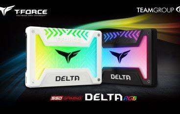 又多一理由買 2.5 吋 SATA SSD! Team DELTA RGB SSD 發光面積夠廣