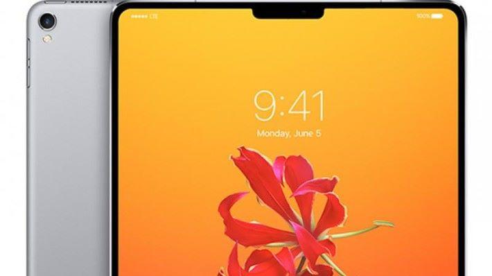 新一代 iPad Pro 將改用全屏幕設計更 Face ID 功能。