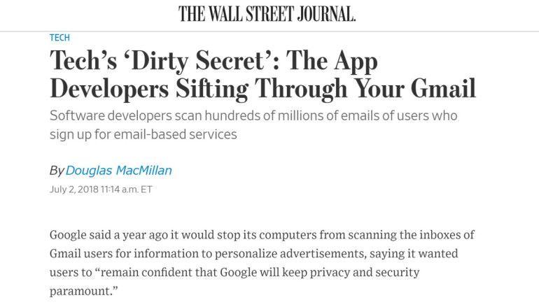 程式開發者在看你的 Gmail 電郵?! Google 發文解釋