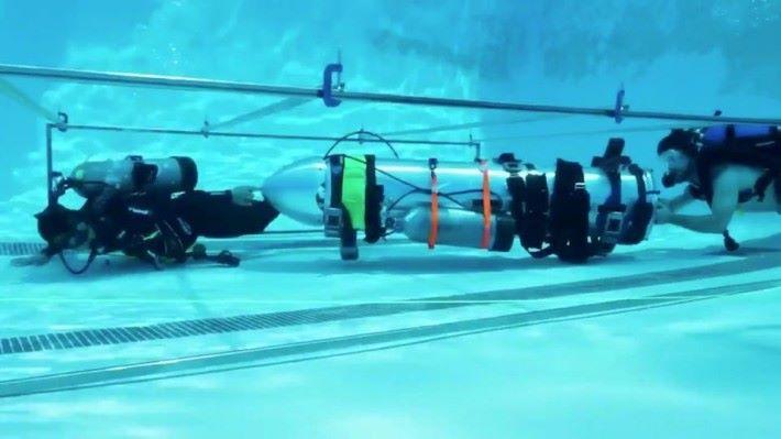 Space X 的迷你潛艇,最終沒被泰國救援團隊採用。