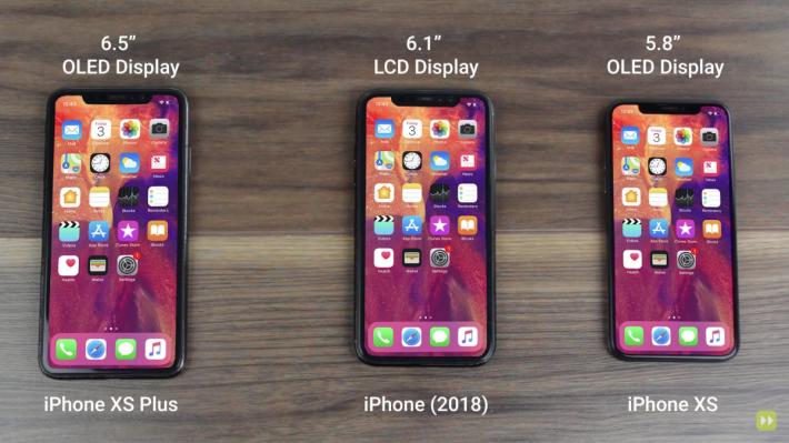 三款新 iPhone 都採用 Face ID (Youtube 截圖)