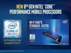 Intel 公布第 8 代 U 及 Y 系列處理器 料新 macBook 及 macBook Air 將採用