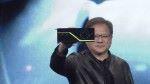 NVIDIA CEO 黃仁勳在 SIGGRAPH 大會展示採用 NVIDIA 第八代 GPU 架構 Turing 的 Quadro RTX GPU