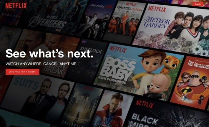 不少人付費加入 Netflix 就是因為不想看廣告