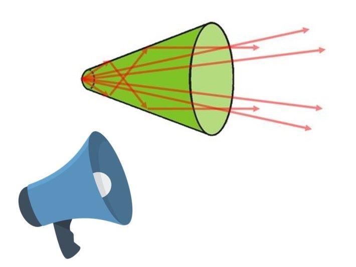 傳聲筒運用了聲音的回聲反射。