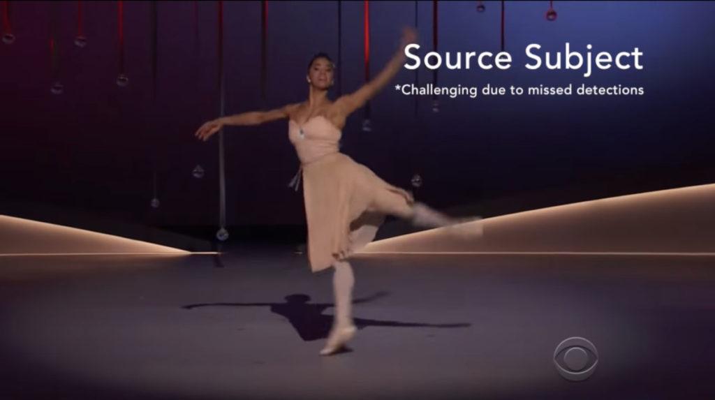 先錄下專業舞者的影片