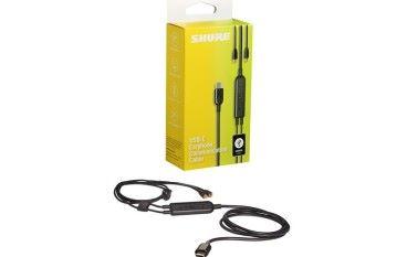 Shure 推出 USB-C 耳機線