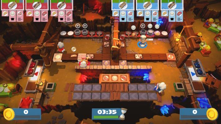玩家想互相比拼可以玩 2 對 2 的「對戰模式」。
