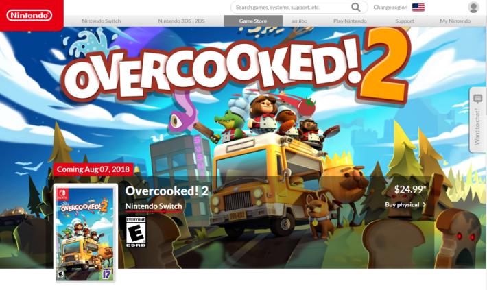 有時候就算同款遊戲,價格都能相差很遠,而《 Overcooked 2 》幸好並不是其中之一。