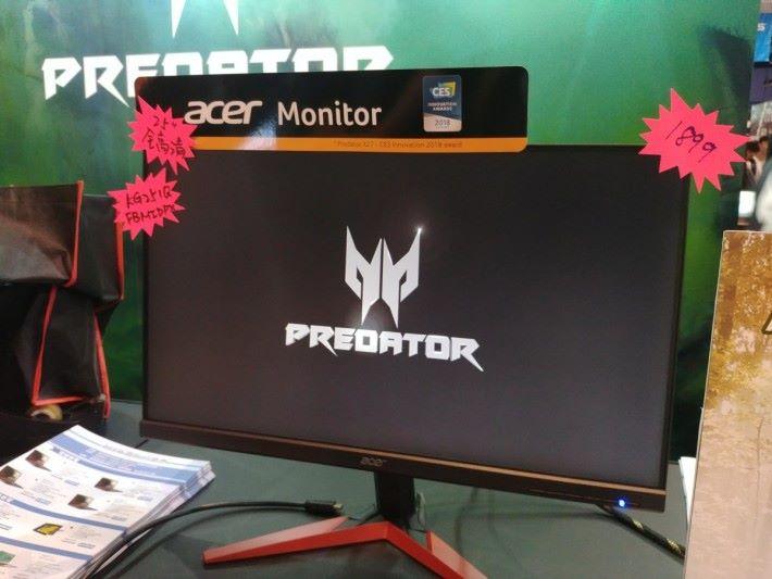 KG251Q FBMIDPX 的規格適合 FPS / TPS 類遊戲,會場價也相當合理。