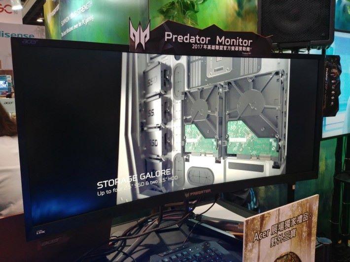Predator Monitor 系列也以低於 $7,000 的優惠價發售,會場更會附送獨家禮品。