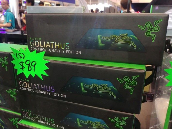 Goliathus 系列滑鼠墊以特惠價發售,各位買滑鼠的時候也不妨留意。