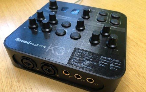 音樂錄播最佳選擇 Creative Sound Blaster K3+