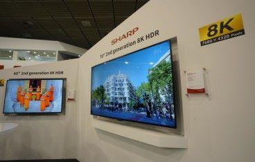 【柏林 IFA 2018】SHARP 第二代 8K 電視登場 1 條 HDMI 2.1 線就搞掂