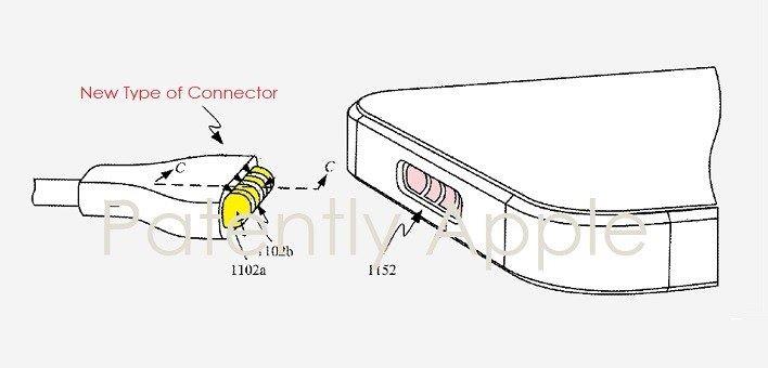 Apple 申請有關在 iOS 裝置上使用磁吸充電的專利。