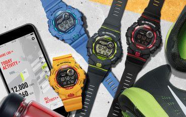 內置計步功能 Casio 新款 G-Shock baby-G 大玩手機連動