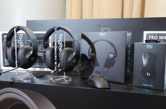今日 Logitech G 趁電競音樂節前夕,在港發表兩款 PRO 電競產品。