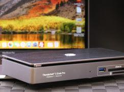 AKiTiO Thunderbolt 3 Dock Pro 化身 10Gb 網絡工作站