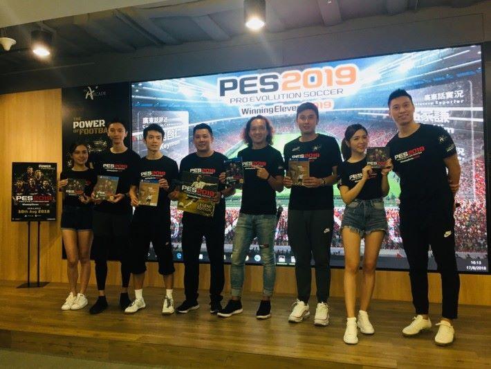 於試玩會中 Gugu 及 Charles 都十分期待《 PES 2019 》的推出