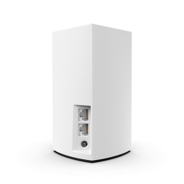 具備 2 個 Gigabit WAN / LAN 埠,用家無需擔心寬頻線與普通 LAN 線插錯位。