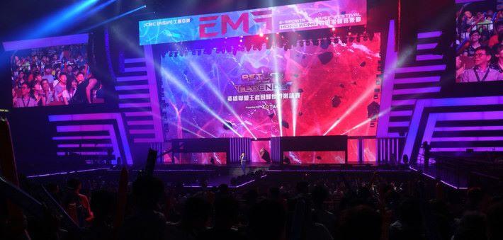 電競音樂節將由紅磡體育館移師會展舉行。