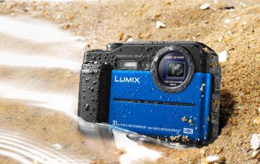 Panasonic Lumix TS7 五防機加實時電子觀景器