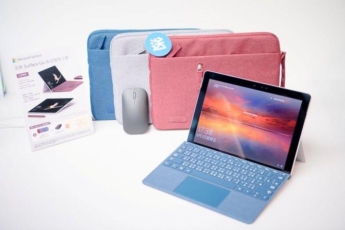 Surface Go 將於 8 月 8 日正式接受預訂,各位可於「Microsoft Store In Store」先行體驗。