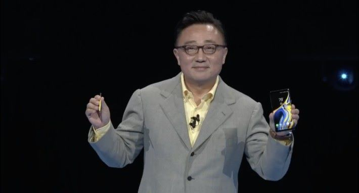 Samsung CEO 權五鉉公布 Samsung 2018 年下半年的旗艦手機 Galaxy Note 9